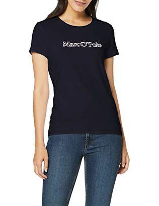 Marc O'Polo Women's M07229351083 T-Shirt, (Midnight Blue 812), S