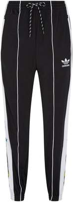 adidas Floral 3-Stripes Track Trousers
