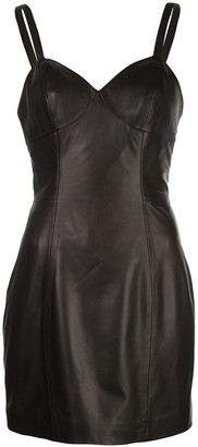 Fleur Du Mal Fitted Mini Dress