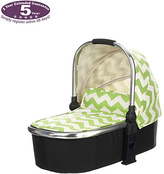 O Baby Obaby Chase Carrycot - ZigZag Lime