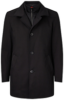 Hugo Boss Hugo By Hugo Boss Barelto Fabric Blend 2 In 1 Coat, Black