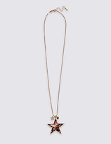M&S Collection Star Pendant Necklace