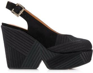 Clergerie Dori Chevre 115mm sandals