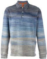 Missoni gradient striped polo shirt