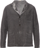 Massimo Alba Patch-pocket linen and cotton-blend jacket