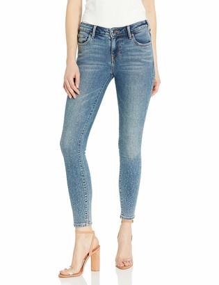 True Religion Women's Jennie Mid Rise Super Stretch Skinny Leg fit Jean