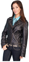 Scully Women's Soft Lamb Motorcycle Jacket L189
