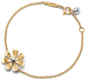 Tiffany & Co. Return to TiffanyTM Love Bugs daisy chain bracelet in gold and sterling silver