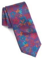 Ted Baker Men's Floral Silk Skinny Tie