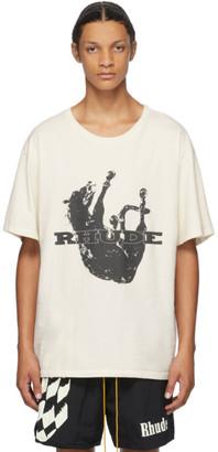 Rhude White Rhonda Pt. 2 T-Shirt