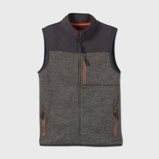 Cat & Jack Boys' Knit Fleece Zip Vest - Cat & JackTM