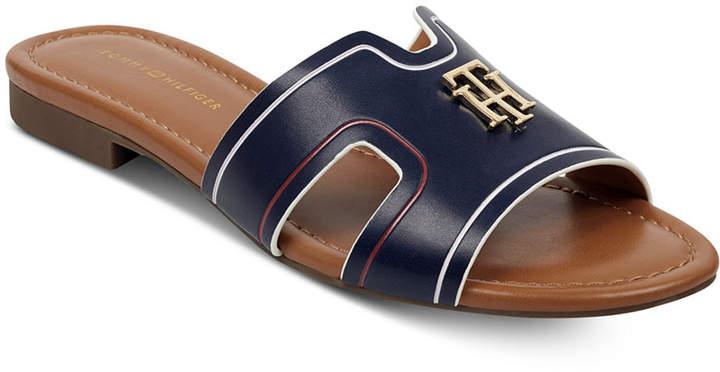 Tommy Hilfiger Sugari Flat Sandals Women Shoes