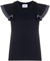 Dondup volant sleeves T-shirt