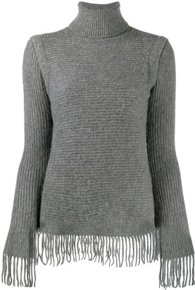 Paco Rabanne Ribbed Knit Jumper
