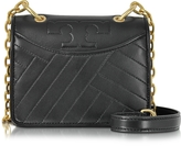 Tory Burch Alexa Black Leather Mini Shoulder Bag