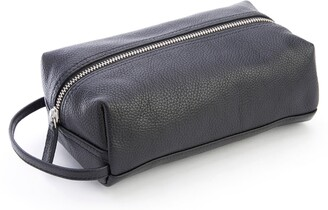 ROYCE New York ROYCE Compact Leather Toiletry Bag