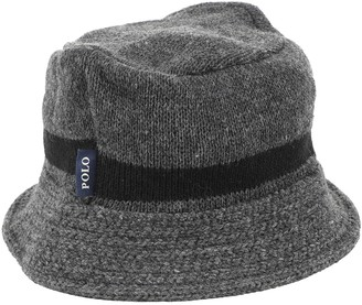 Polo Ralph Lauren Grey Wool Hats