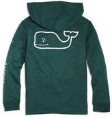 Vineyard Vines Boys' Long-Sleeve Whale Pocket Tee with Hood - Big Kid