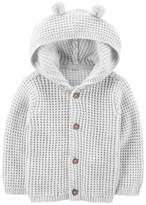 Carter's LBB Long Sleeve Hooded Neck Cardigan Unisex