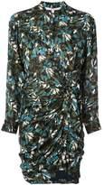 Veronica Beard ruched shirt dress