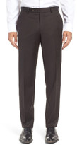 Ted Baker Jefferson Trim Fit Solid Wool Trousers