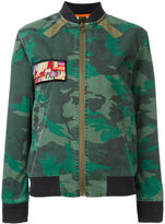 Mr & Mrs Italy camouflage print jacket