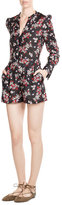Tara Jarmon Printed Playsuit