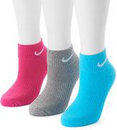 Nike Women's 3-pk. Quarter Crew Socks