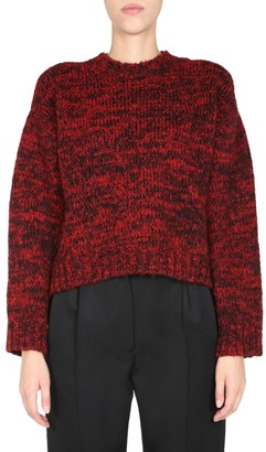 RED Valentino Knitted Crewneck Sweater