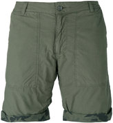Woolrich reversible camouflage shorts