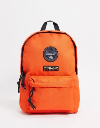 Napapijri Voyage mini backpack in orange