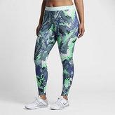 Nike Pro HyperWarm Women's Printed Training Tights (1X-3X)