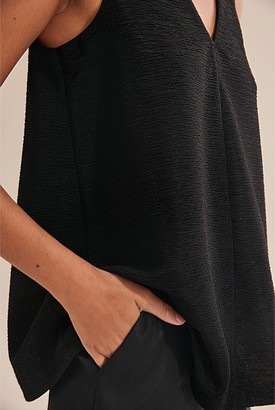 Country Road Crepe Swing Tank