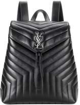 Saint Laurent Loulou Medium Monogram leather backpack