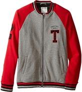 True Religion Fleece Letterman Jacket (Big Kids)