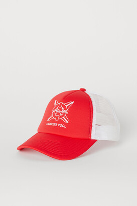 H&M Cap with Printed Design