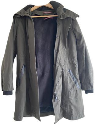 Comptoir des Cotonniers Khaki Polyester Coats
