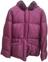 Blumarine Purple Coat for Women