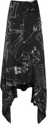 Alexander McQueen Dancing Girl asymmetric dress