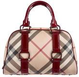 Burberry Super Nova Check Bag
