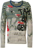 Faith Connexion striped painted long sleeve shirt