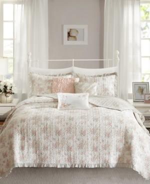 Madison Home USA Serendipity Cotton 6-Pc. King/California King Coverlet Set Bedding