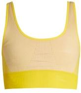 adidas by Stella McCartney Seamless soft-cup performance bra