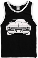Urban Smalls Black Muscle Car Tank - Toddler & Boys