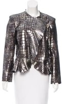 Isabel Marant Metallic Leather Jacket