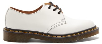 Comme des Garcons X Dr. Martens Leather Derby Shoes - Womens - White