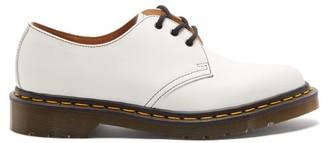 Comme des Garçons Comme des Garçons X Dr. Martens Leather Derby Shoes - White