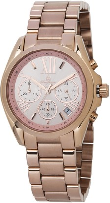 Burgmeister Women's Analogue Quartz Watch with Stainless Steel Plated Strap BM337-368