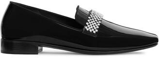 Giuseppe Zanotti Crystal Detail Loafers