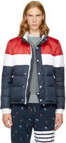 Thom Browne Tricolor Down Three-panel Jacket